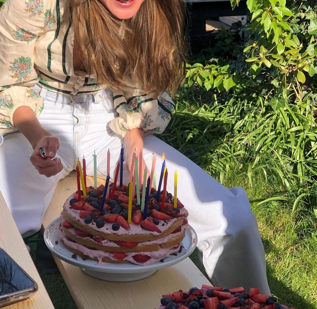 cake, birthday, and dessert image