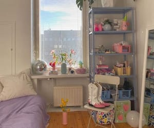 bedroom, aesthetic, and decor image