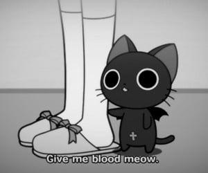 creepy and kitty image