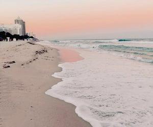 beach, Miami Beach, and ocean image