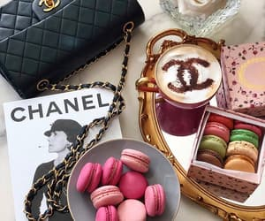 coffee, chanel, and dessert image