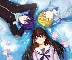 anime, god, and yato image