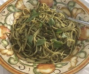 basil, cuisine, and pasta image