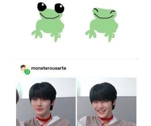 frog, i, and skz image