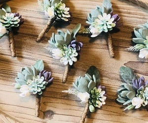 corsage, rustic wedding, and boutonniere image