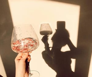 drink, shadow, and summer image
