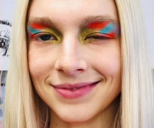 euphoria, makeup, and hunter schafer image