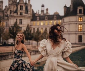 fashion, beauty, and castle image