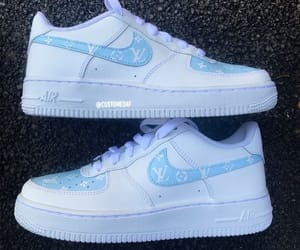 air force, blue, and fashion image