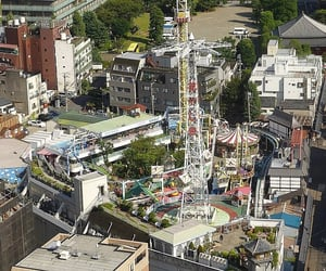 amusement park, asakusa, and honshu island image
