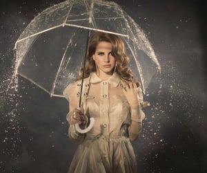 lana del rey, rain, and lana image