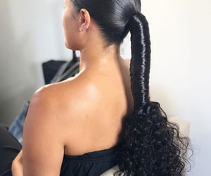 hair, styles, and hairstyle image