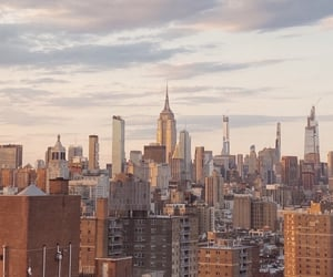 city, Dream, and empire state building image