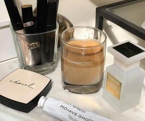 coffee, luxury, and makeup image