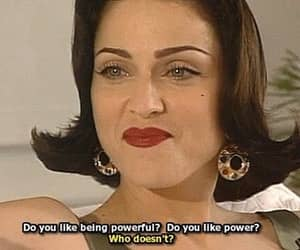 madonna, power, and Powerful image
