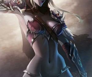 blizzard, game, and sylvanas image