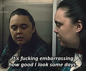 gif, self confidence, and my mad fat diary image
