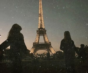 girls, paris, and travel image