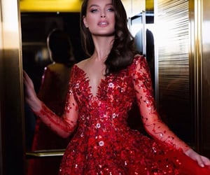 Couture, glamour, and gorgeous image
