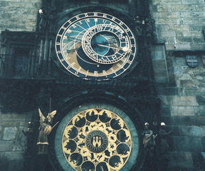 clock, prague, and photography image