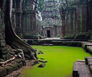 Cambodia and Temple image