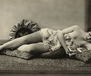 1800s, girl, and sepia image