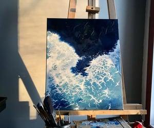 art, beautiful, and ocean image