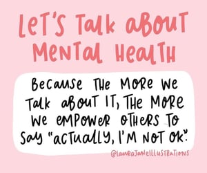 anxiety, mental health, and quotes image