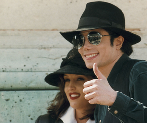 couple, michael jackson, and nostalgia image