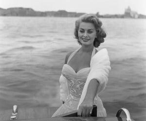 1950, beautiful, and sophia loren image