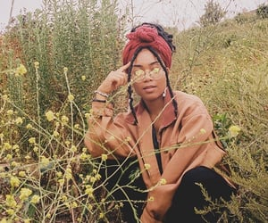 aesthetic, black, and black girl image