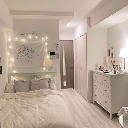 decor, bedroom, and design image