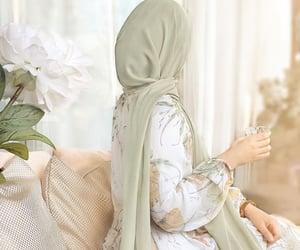 dz, green, and hijab image