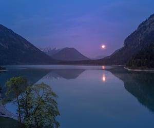 lake, mountains, and blue image
