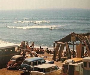 beach, vintage, and 60s image