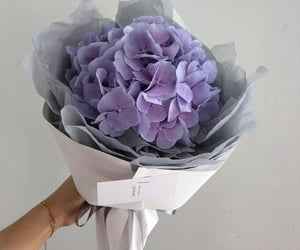 flowers, lavender, and pink image