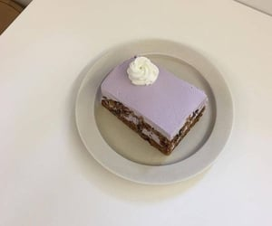 lavender, aesthetic, and cake image