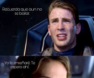 baile, guerra, and steve rogers image