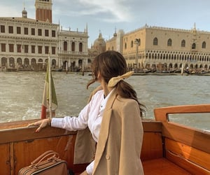 beautiful, boat, and italy image