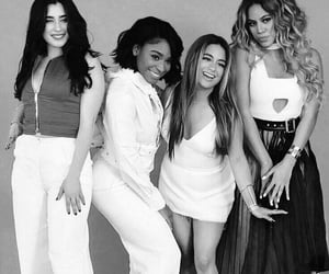 black and white, ally brooke, and dinah jane image
