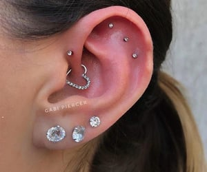 aesthetic, details, and piercing image