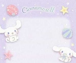 cinnamoroll, kawaii, and Letter image