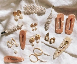 accessories, earrings, and pearls image