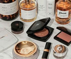 makeup, chanel, and perfume image