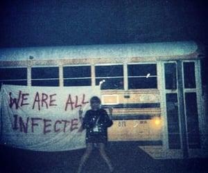 grunge, bus, and dark image