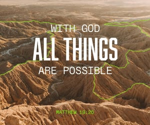 faith and all things are possible image