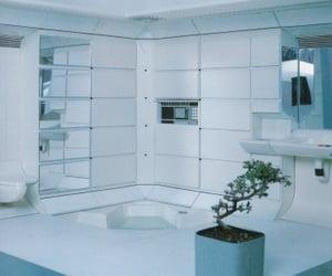 80s, futuristic, and interior image