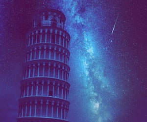 galaxy, sky, and italy image