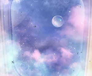 bubbles, dreamy, and heaven image