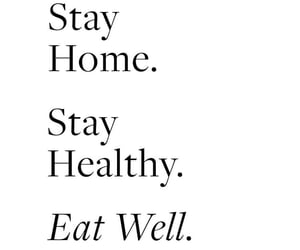 quotes and stay home image